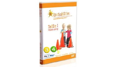 DVD Sparkabilities Toddler 1