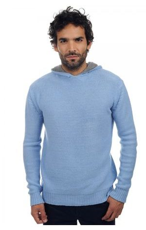 sky blue grey marl #2