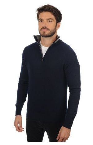dress blue / grey marl