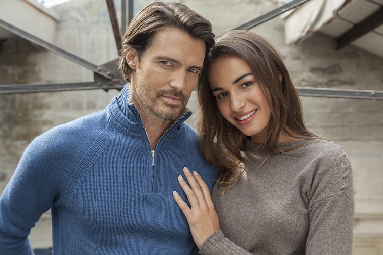 Luxurious Men's Cashmere Sweaters
