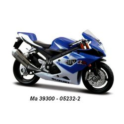 Model Suzuki GSX-R1000 (blue)1:18 - modrá