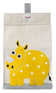 3 Sprouts Diaper Stacker - Rhino