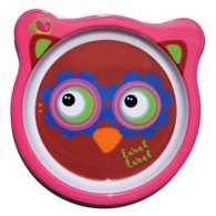 Label-Label - Friends Melamine Plates - Owl Girls