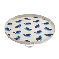 3 Sprouts Play Mat Bag - Whale
