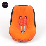 Walking Mum Happy Fluor Summer Potah na autosedačky 0-13 kg - Orange