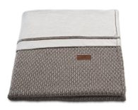 Baby´s Only Robust Rib&Pip Chenille Blanket - Dětská deka - 38. Robust taupe 95x70