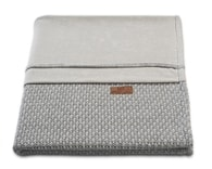 Baby´s Only Robust Rib&Pip Chenille Blanket - Dětská deka - 33. Pip Light Grey 100x130