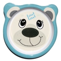 Label-Label - Friends Melamine Plates - Polar Bear