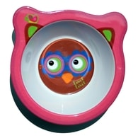 Label-Label - Friends Melamine Bowl - Owl Girls