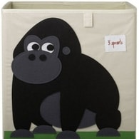 3 Sprouts Storage Box - Gorilla