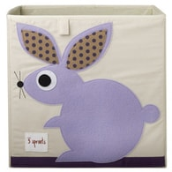 3 Sprouts Storage Box - Rabit