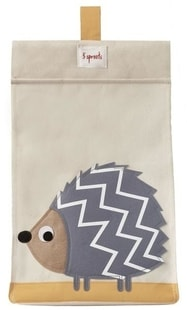 3 Sprouts Diaper Stacker - Hedgehog