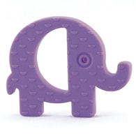 Koo-di Baby Choos Teether - Kousátko - Elephant Purple