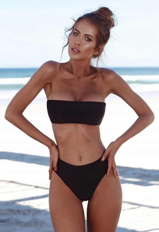 3296cf4e6 ... Plážová móda a plavky » Dokonalé plavky Brazilky - black. krásné plavky