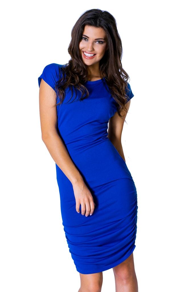 2d655dd01b97 Krasaprozeny.cz - Elegantní dámské šaty - blue - Sukně