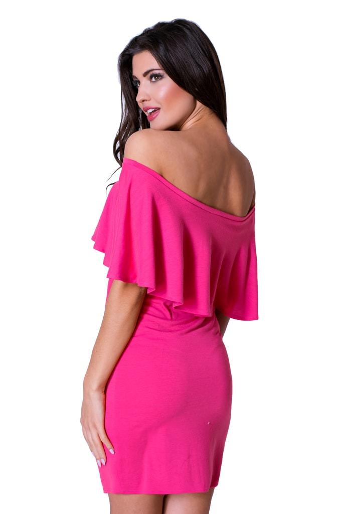 fc884562b4e1 Krasaprozeny.cz - Úžasné dámské šaty - pink - Sukně