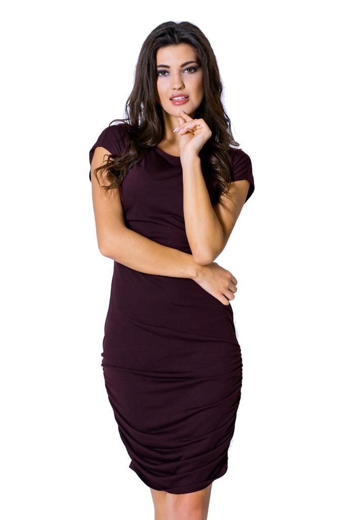 71ddd5c07ea1 Krasaprozeny.cz - Elegantní dámské šaty - brown - Sukně