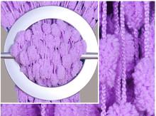 Exkluzivní plyšová záclona Dream - fialová