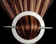 Provázková záclona De Luxe duo-effect- capuccino