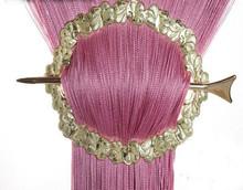 Provázková záclona Exkluzive - růžová