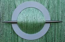 Provázková záclona Luxury - zelená