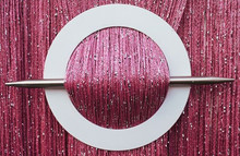 Provázková záclona Luxury - růžová