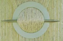 Provázková záclona Luxury - krémová