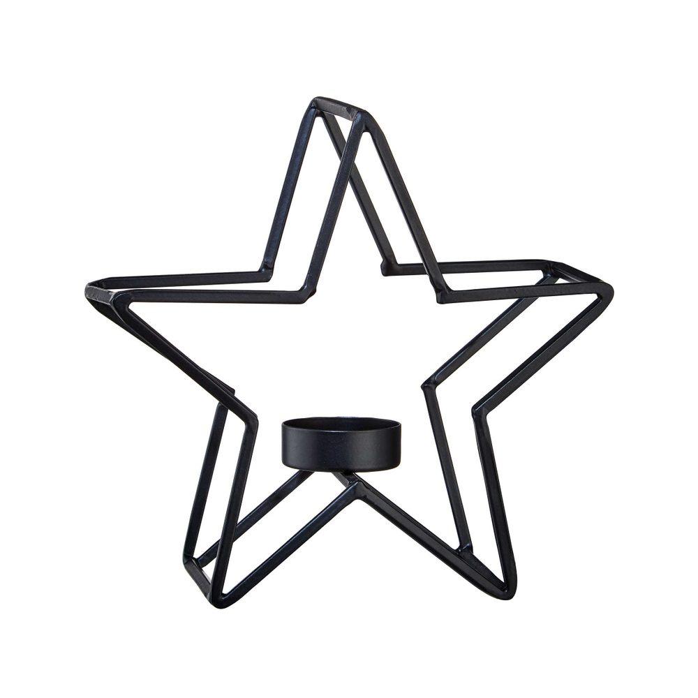 FRAME Svícen na čajovou svíčku hvězda