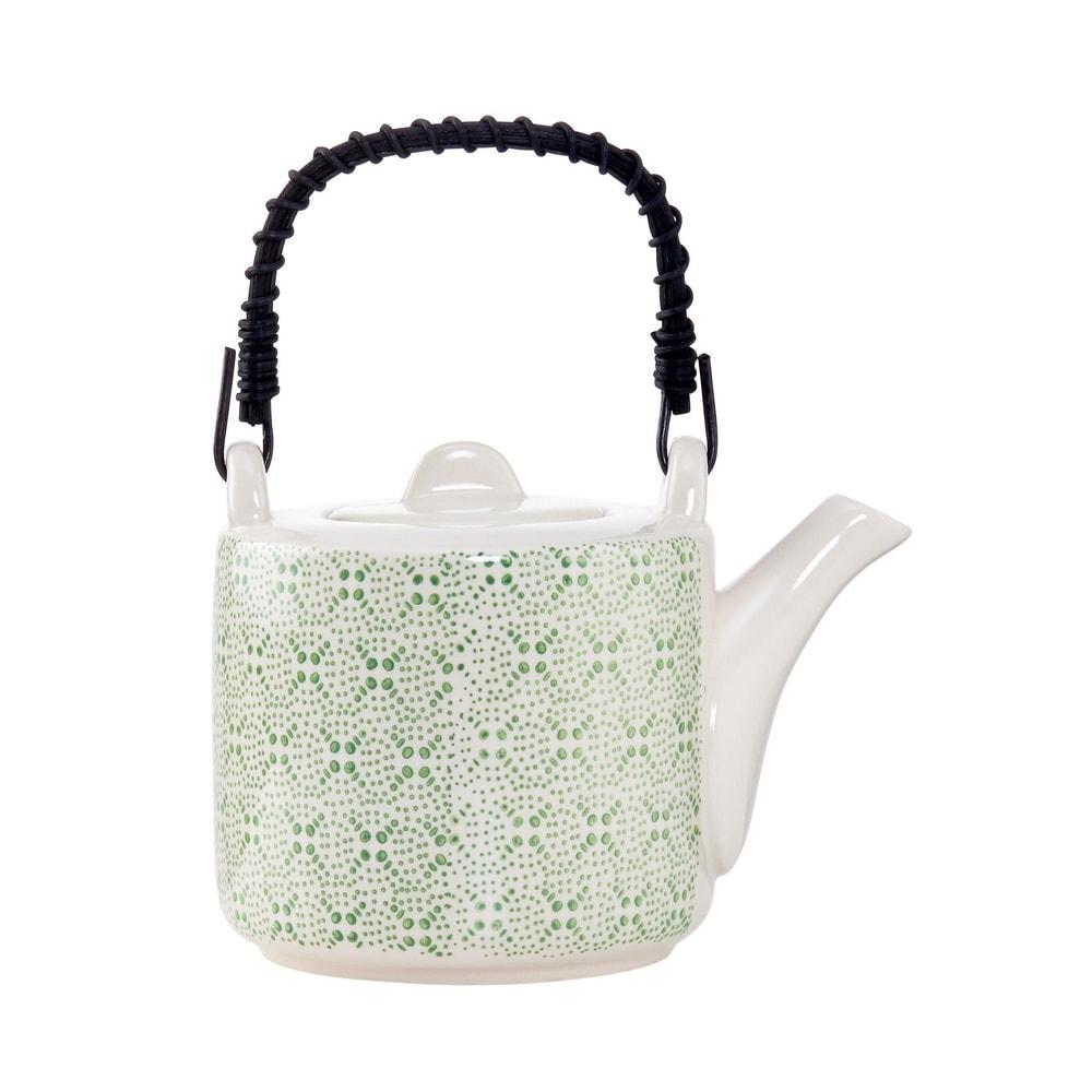 Produktové foto RETRO Konvička na čaj - zelená