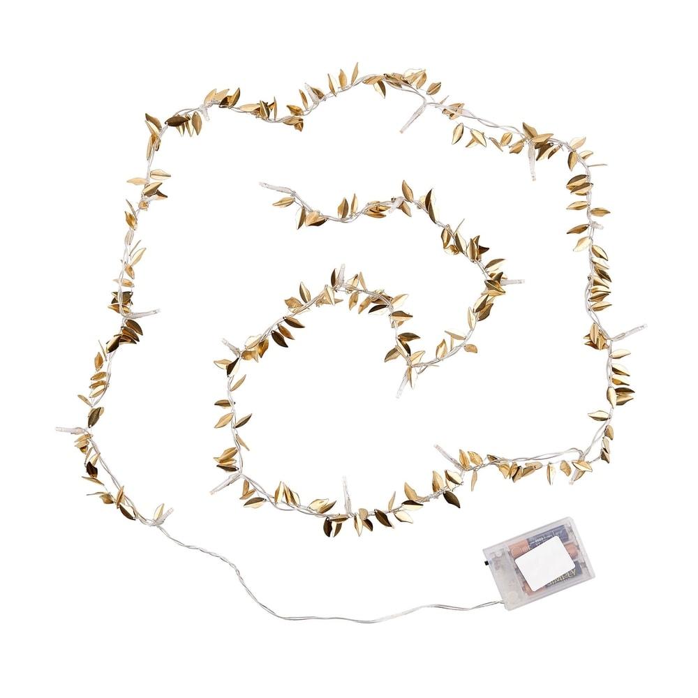 CAESAR LED Světelný řetěz listy