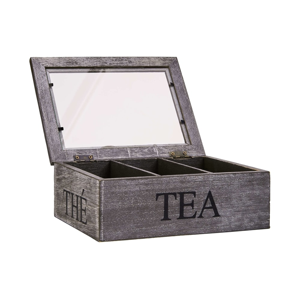 Produktové foto CAMPAGNE Krabička na čaj 3 přihrádky