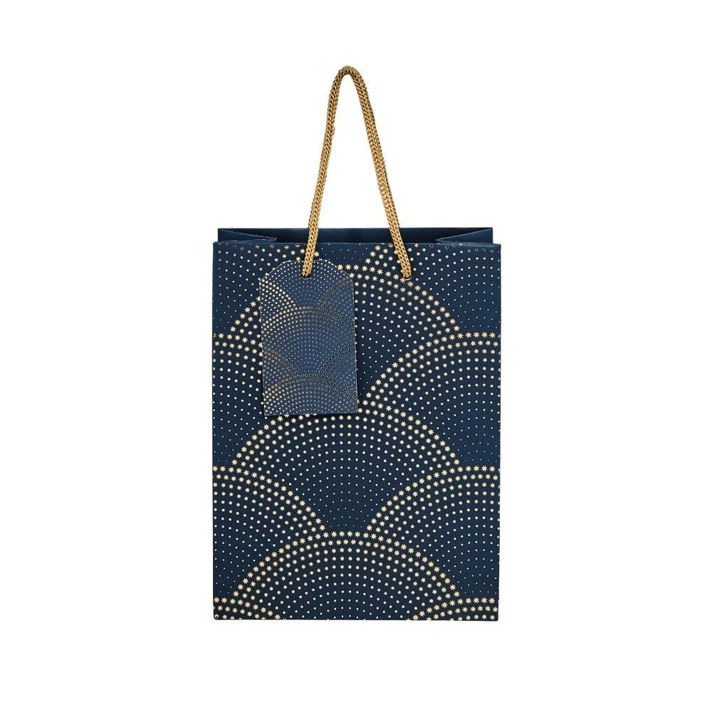 X-MAS Dárková taška Art Deco 9,2 cm