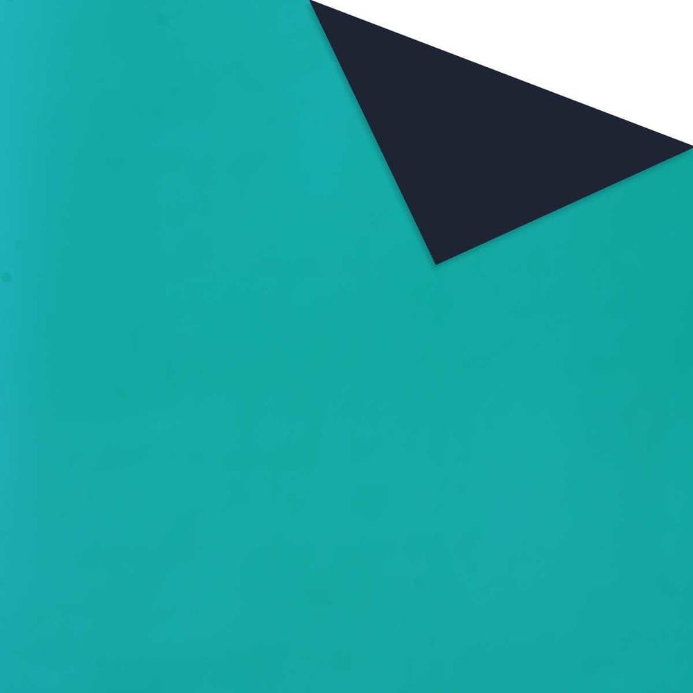 SURPRISE Dárkový papír - tyrkysová/tm. modrá