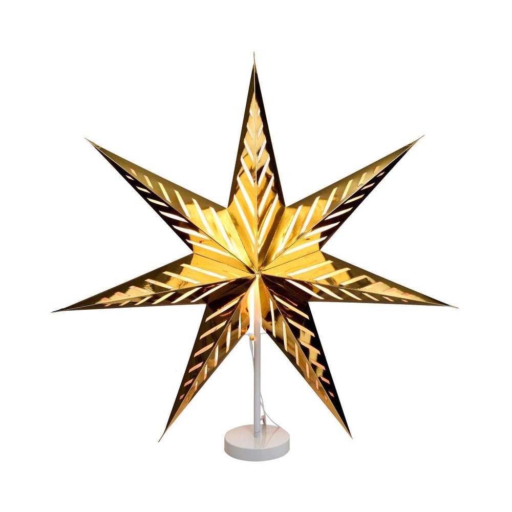 Produktové foto LATERNA MAGICA Papírová dekorační hvězda 80 cm - zlatá