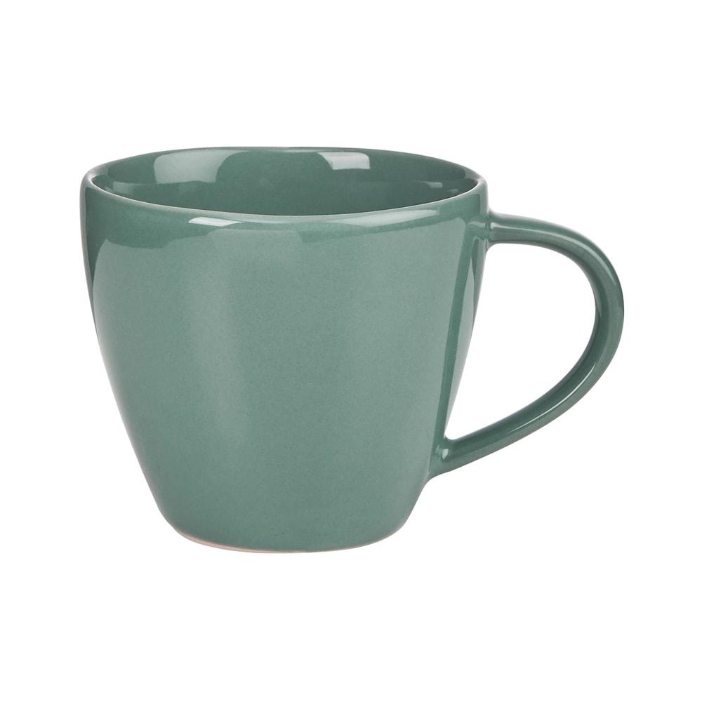 SPHERE Hrnek 360 ml - tm. zelená