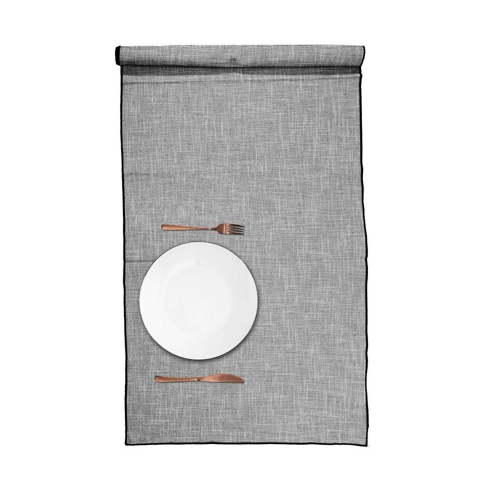 Produktové foto TOKYO Běhoun na stůl žilkovaný 50 x 160 cm