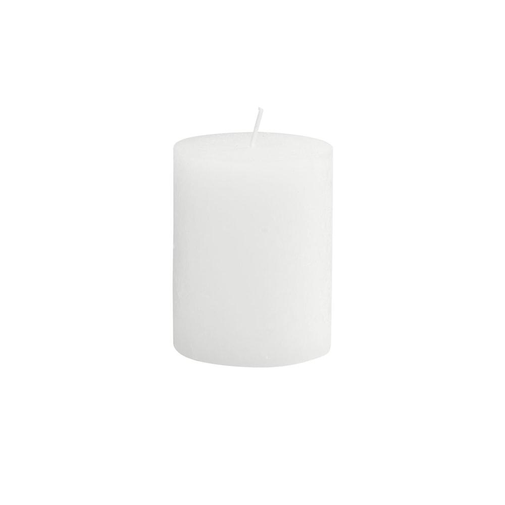 RUSTIC Svíčka 9 cm - bílá