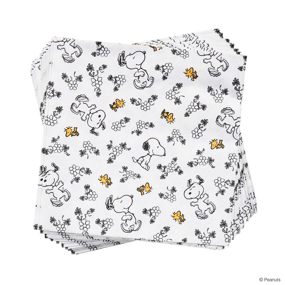 PEANUTS Papírové ubrousky milující Snoopy 20 ks