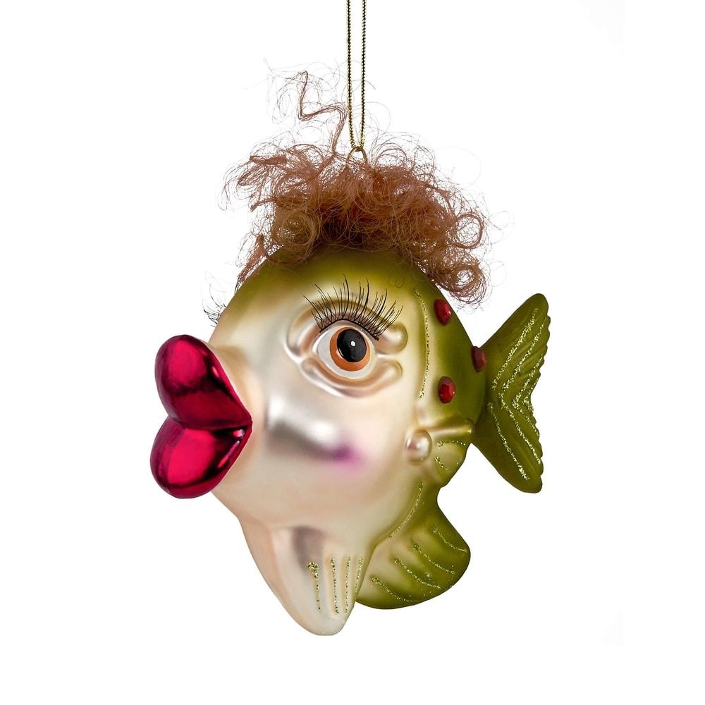 Fotografie HANG ON Ozdoba rybička s vlasy