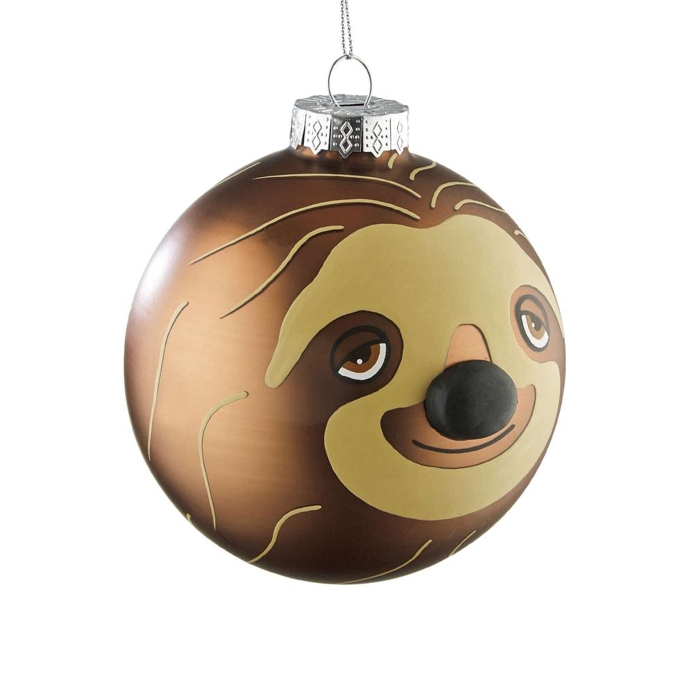 """HANG ON Ozdoba vánoční koule lenochod """"Gabi"""""""