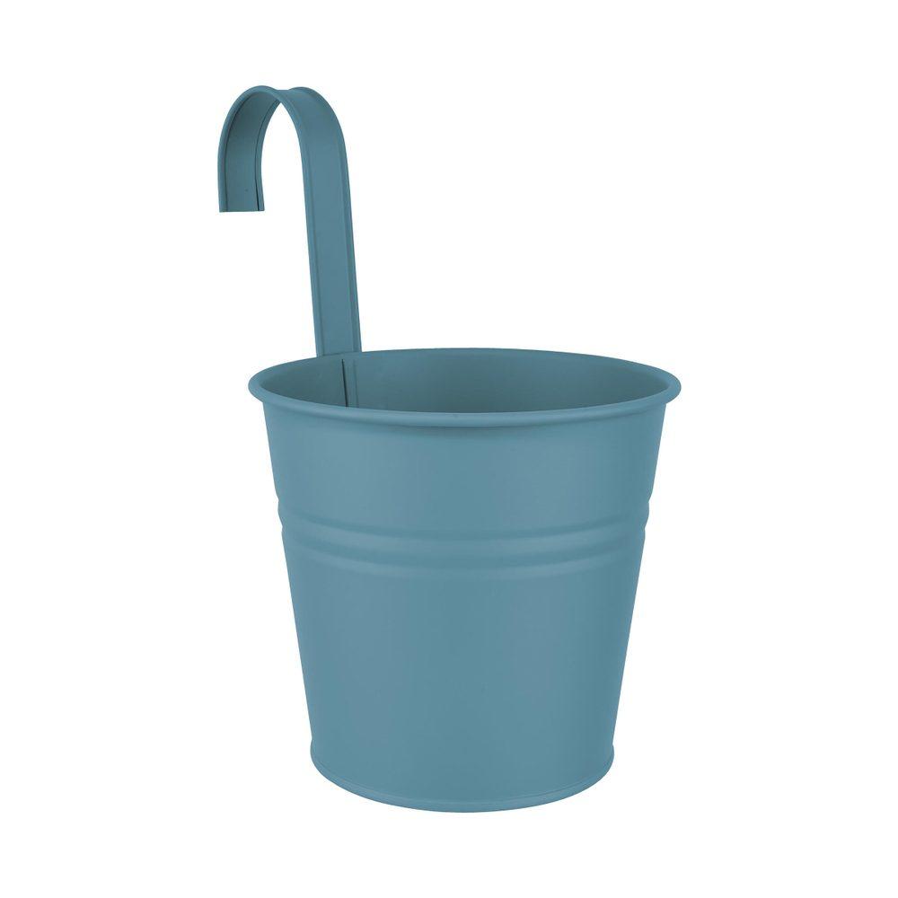 ZINC Závěsný květináč 16 cm - modrá