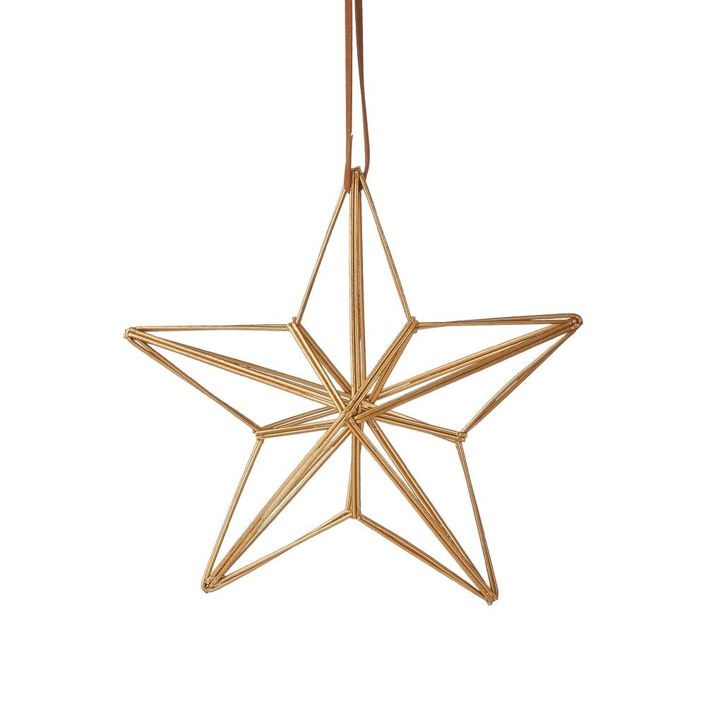 HANG ON Ozdoba hvězda 15 cm