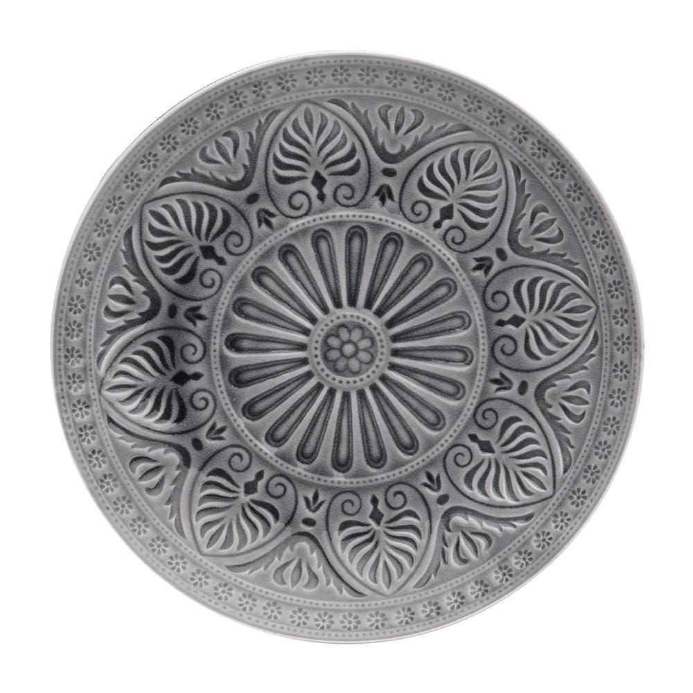Produktové foto SUMATRA Talíř 31 cm - šedá