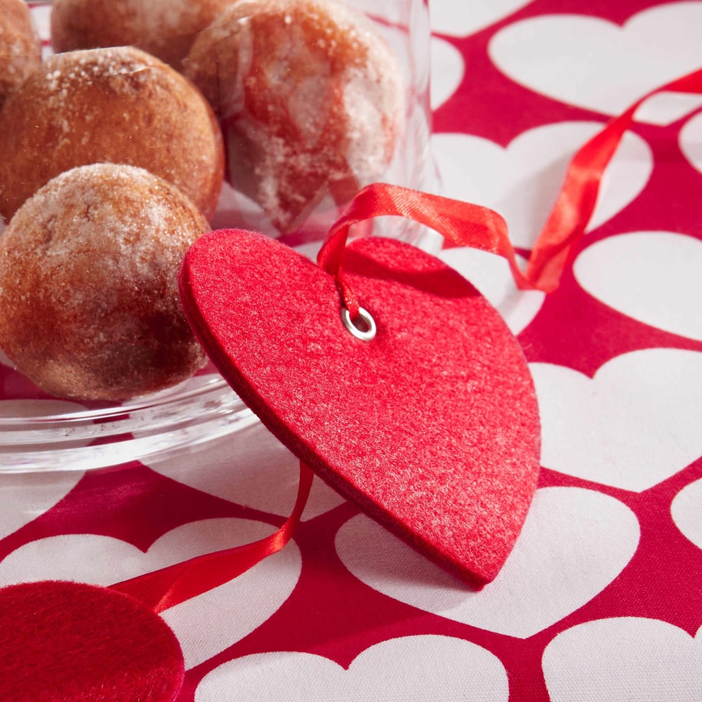 Produktové foto HEART TO HEART Filcová ozdoba srdce