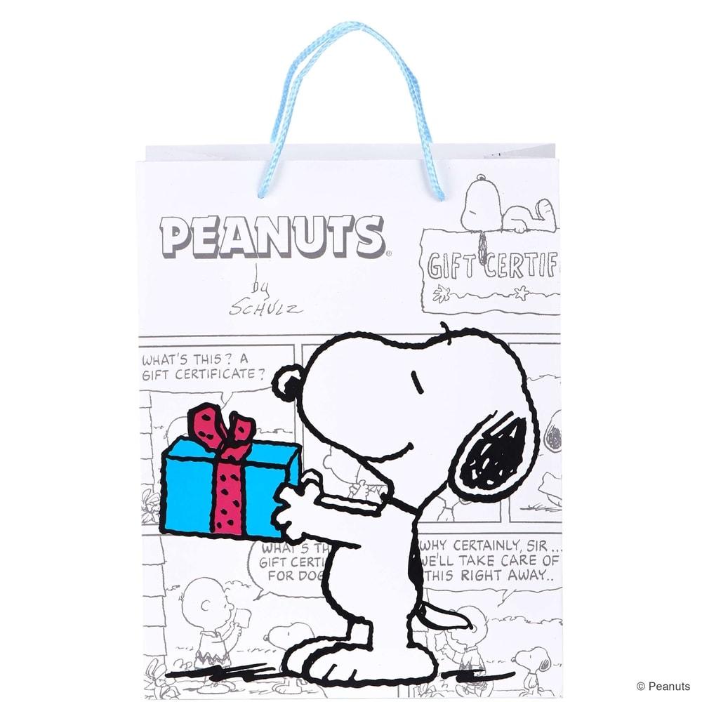 Fotografie PEANUTS Dárková taška Snoopy