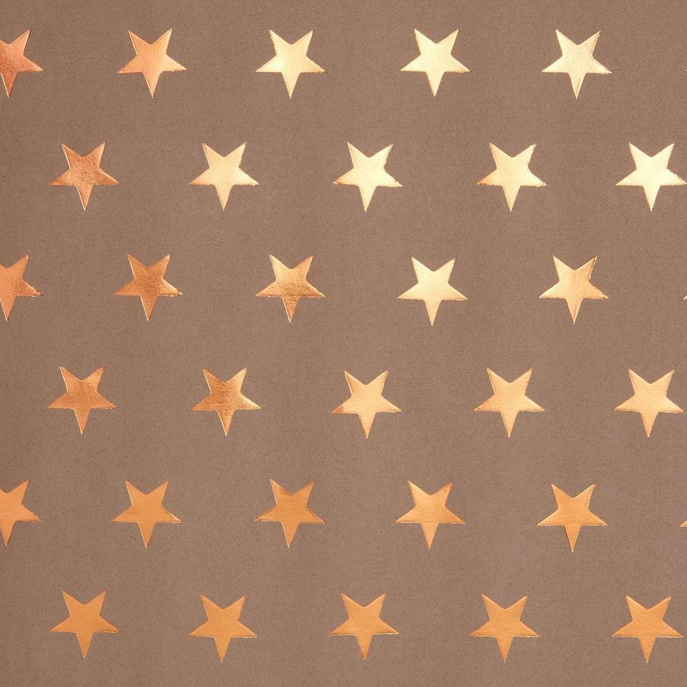 SURPRISE Balící papír s hvězdami