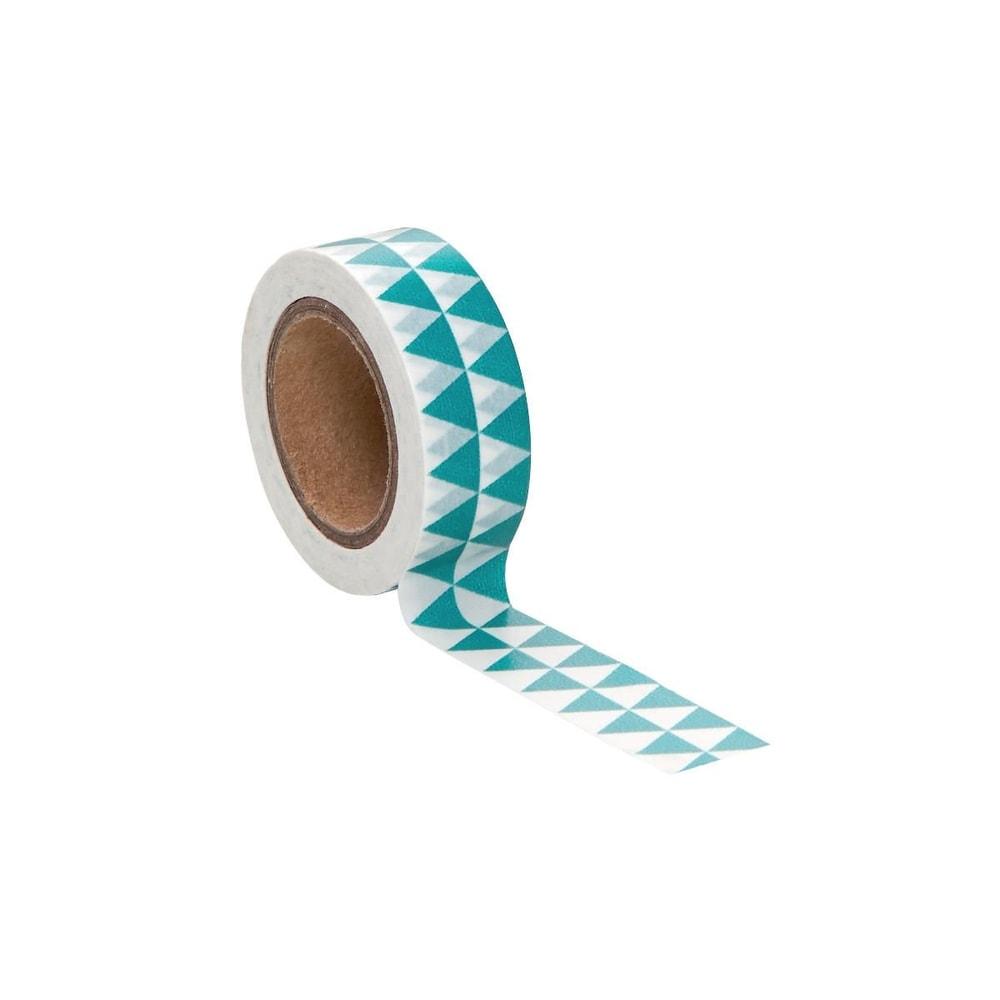 TAPE Lepicí páska trojúhelník - modrá/bílá