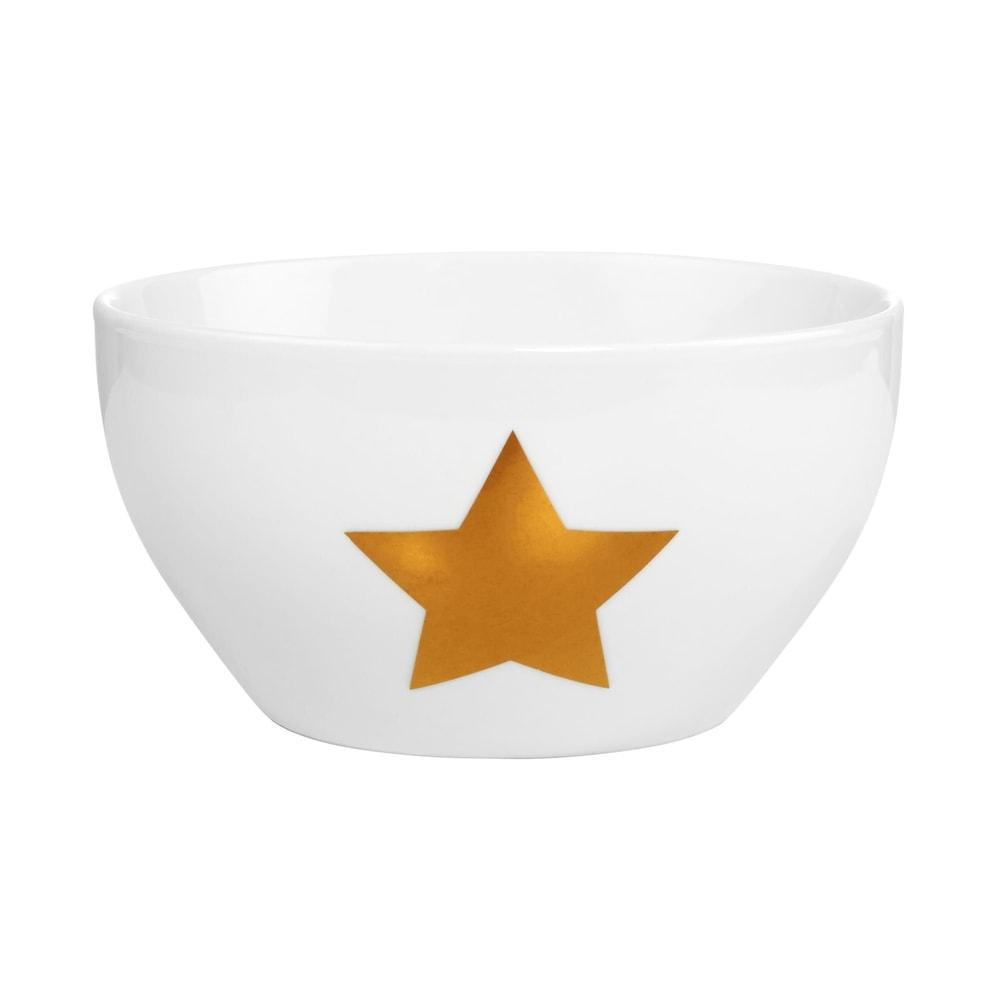 Produktové foto WHITE XMAS Miska hvězda