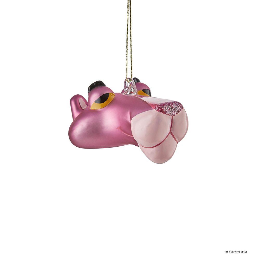 PINK PANTHER Vánoční ozdoba růžový panter 3D