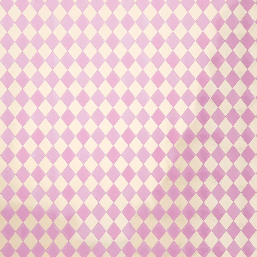 SUPRISE Balící papír - růžová/stříbrná